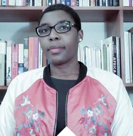 curator Christine Eyene