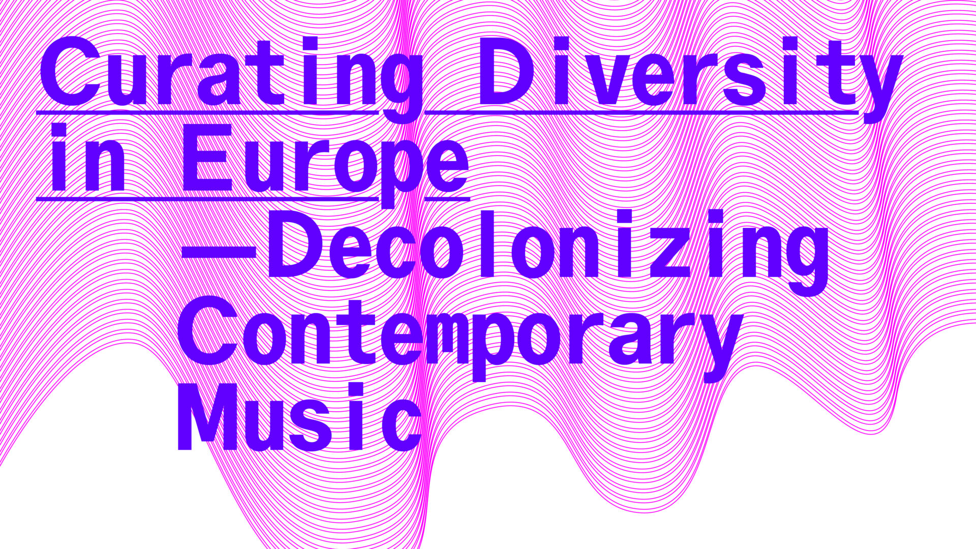 Sounds Now Symposium 2020