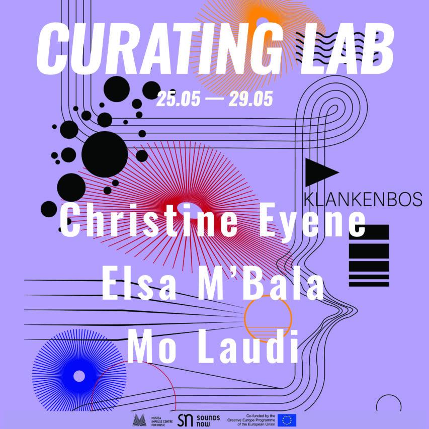Curating Lab with Christine Eyen, Elsa M'Bala and Mo Laudi