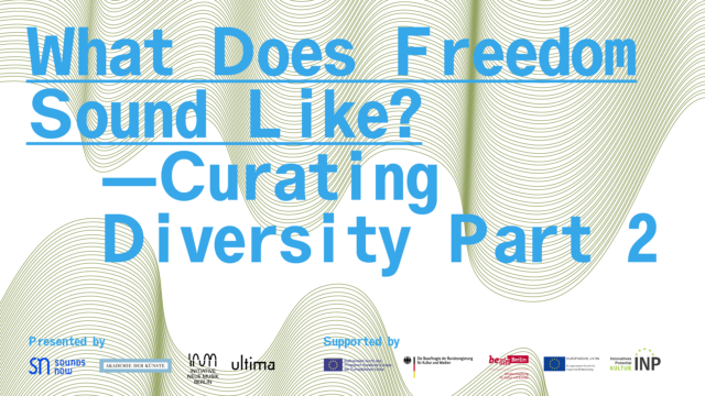 Curating Diversity symposium, Part 2