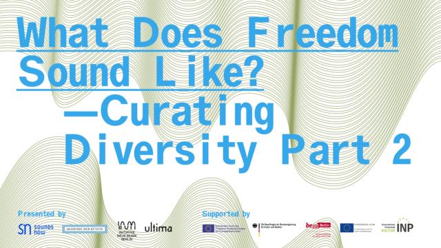 Curating Diversity symposium, Part 2